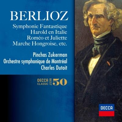 幻想交響曲、イタリアのハロルド、ラコッツィ行進曲、他 デュトワ&モントリオール響(2CD)