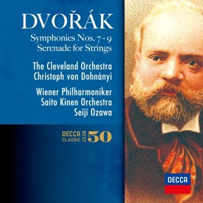交響曲第9番『新世界より』、第8番(小澤征爾&ウィーン・フィル)、第7番(ドホナーニ&クリーヴランド管)、他(2CD)