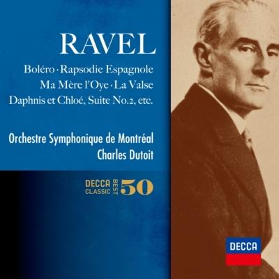 ボレロ、亡き王女のためのパヴァーヌ、クープランの墓、ラ・ヴァルス、スペイン狂詩曲、他 デュトワ&モントリオール響(2CD)