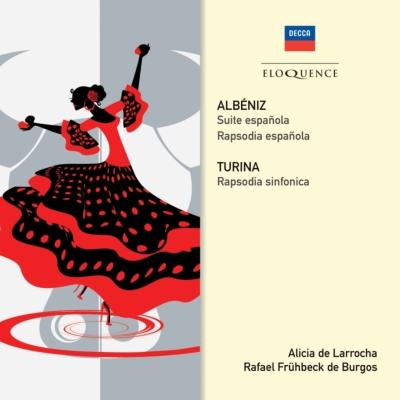 アルベニス:スペイン狂詩曲、スペイン組曲、トゥリーナ:交響的狂詩曲 ラローチャ、フリューベック・デ・ブルゴス&ロンドン・フィル、他