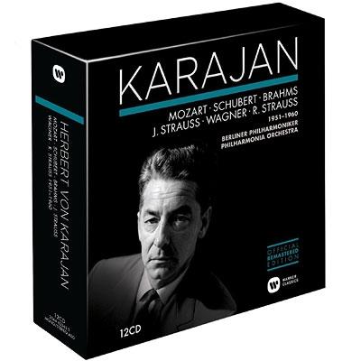 カラヤン/ドイツ音楽集1951−1960(12CD)