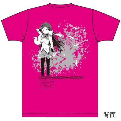 劇場版「魔法少女まどか☆マギカ 新編 叛逆の物語」暁美ほむら HMV限定カラーTシャツ: ホットピンク / Mサイズ
