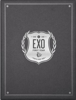 EXO's First Box DVD (4DVD+イヤフォンケーブルワインダー)
