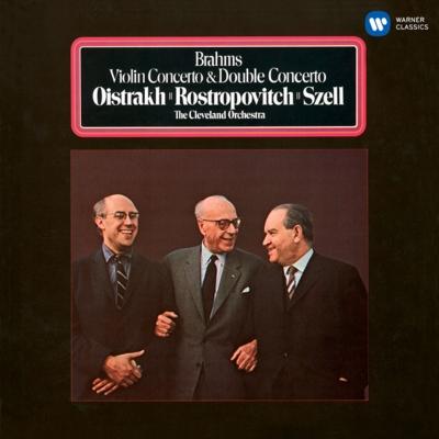 ヴァイオリン協奏曲、二重協奏曲 オイストラフ、ロストロポーヴィチ、セル&クリーヴランド管