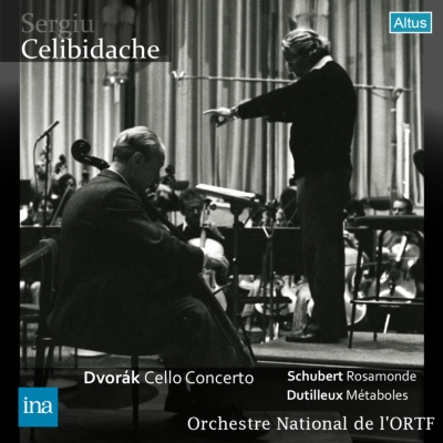 ドヴォルザーク:チェロ協奏曲、デュティユー:メタボール、他 フルニエ、チェリビダッケ&フランス国立放送管弦楽団(1974 ステレオ)
