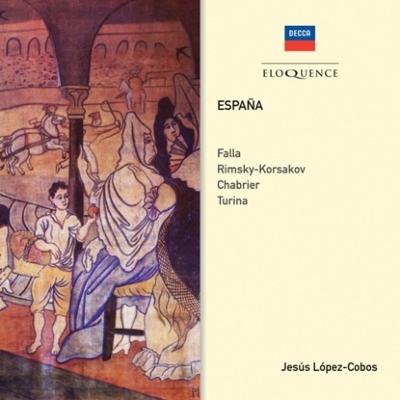 ファリャ:三角帽子、リムスキー=コルサコフ:スペイン奇想曲、シャブリエ、トゥリーナ ロペス=コボス&ロサンジェルス・フィル、スイス・ロマンド管