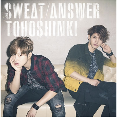 Sweat / Answer [First Press Limited Edition] (CD+DVD)
