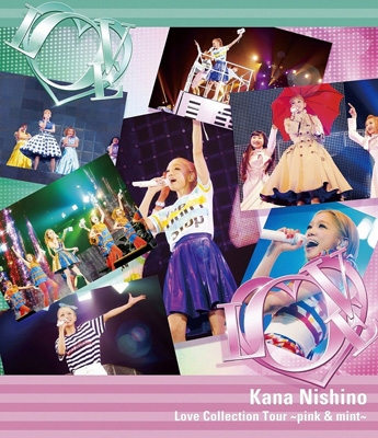Love Collection Tour 〜pink & mint〜(Blu-ray)