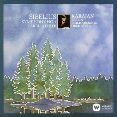 交響曲第1番、『カレリア』組曲 カラヤン&ベルリン・フィル