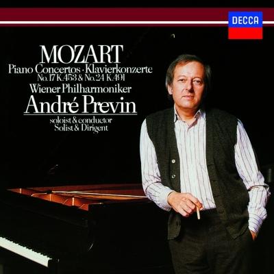 Piano Concertos Nos.17, 24 : Previn(P)/ Vienna Philharmonic