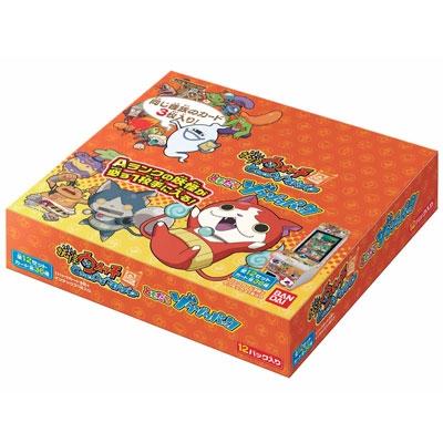 データカードダス妖怪ウォッチ ともだちゾクゾクパック BOX (1BOX=12パック入り)