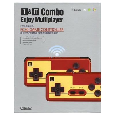 レトロゲームコントローラ I & IIコンボ(PC/スマートフォン対応)