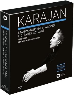 カラヤン・エディション/ブルックナー、ワーグナー、R.シュトラウス、他(6CD)