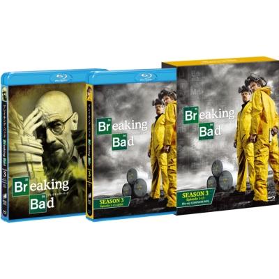 ブレイキング・バッド SEASON 3 COMPLETE BOX(5枚組)