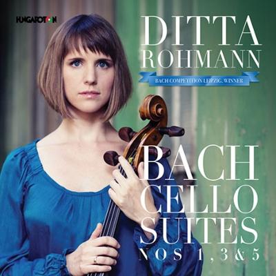 無伴奏チェロ組曲第1番、第3番、第5番 ディッタ・ローマン