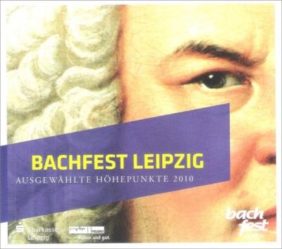 ブラームス:交響曲第4番(ノット&バンベルク響)、バッハ:カンタータ第197番(ヘレヴェッヘ指揮)、他(ライプツィヒ・バッハ音楽祭2010ライヴ)(2CD)