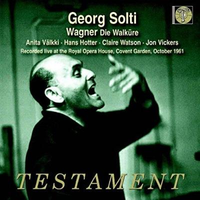 『ワルキューレ』全曲 ゲオルグ・ショルティ&コヴェント・ガーデン王立歌劇場、ハンス・ホッター、ジョン・ヴィッカーズ、他(1961 モノラル)(4CD)