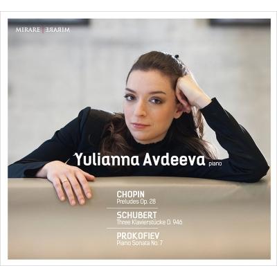 ショパン:24の前奏曲、プロコフィエフ:ピアノ・ソナタ第7番、シューベルト:3つのピアノ曲 アヴデーエワ(2CD)