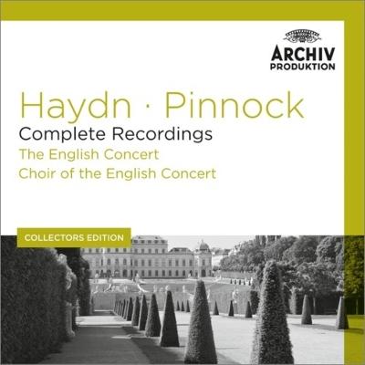 交響曲集、協奏曲集、『ネルソン・ミサ』、テ・デウム ピノック&イングリッシュ・コンサート(12CD)