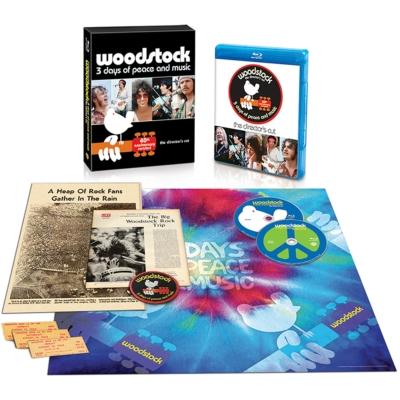 ディレクターズカット ウッドストック 愛と平和と音楽の3日間 製作40周年記念リビジテッド版(2枚組)【数量限定生産】