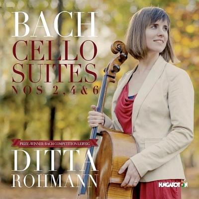 無伴奏チェロ組曲第2番、第4番、第6番 ディッタ・ローマン