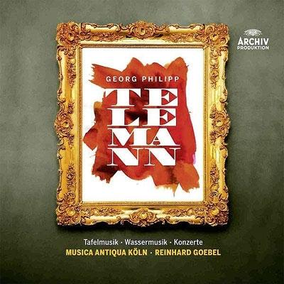 ターフェルムジーク、水上の音楽、協奏曲集、室内曲集 ゲーベル&ムジカ・アンティクァ・ケルン(10CD)