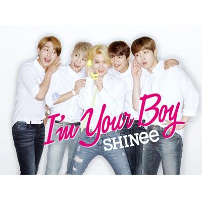 I'm Your Boy 【初回生産限定盤B】(CD+DVD+撮りおろしフォトブックレット・type B)