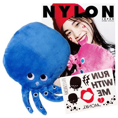 NYLON JAPAN PREMIUM BOX VOL.18/The Monkis ミニクッション(Imoo Mini)