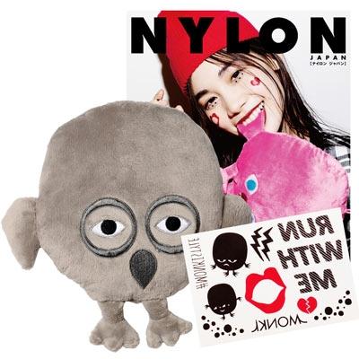 NYLON JAPAN PREMIUM BOX VOL.18/The Monkis ミニクッション(Monokomi Mini)