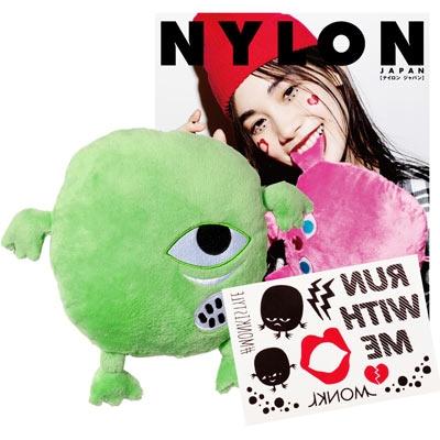 NYLON JAPAN PREMIUM BOX VOL.18/The Monkis ミニクッション(Kyo Mini)