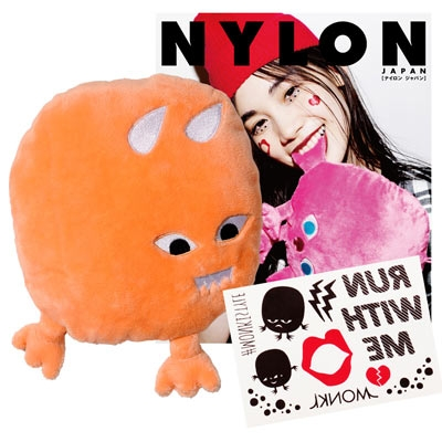 NYLON JAPAN PREMIUM BOX VOL.18/The Monkis ミニクッション(Mocki Mini)