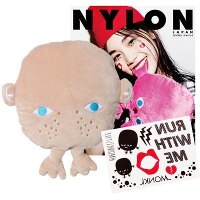 NYLON JAPAN PREMIUM BOX VOL.18/The Monkis ミニクッション(Nokimi Mini)
