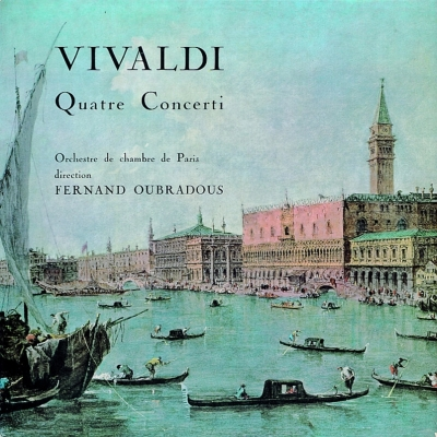 協奏曲集 ウーブラドゥ&パリ室内管弦楽団、ピエルロ、コロー、ドレフュス、オンニュ、他