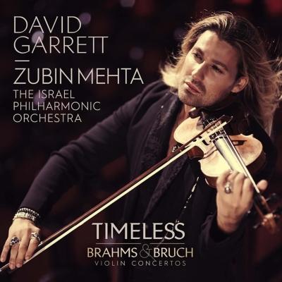 ブラームス:ヴァイオリン協奏曲、ブルッフ:ヴァイオリン協奏曲第1番 デイヴィッド・ギャレット、メータ&イスラエル・フィル