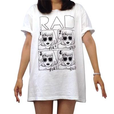 COLOR ME RAD 限定BIGTシャツ【ONEサイズ】