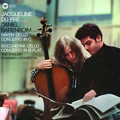 ハイドン:チェロ協奏曲第1番、ボッケリーニ:チェロ協奏曲 ジャクリーヌ・デュ・プレ、バレンボイム&イギリス室内管弦楽団