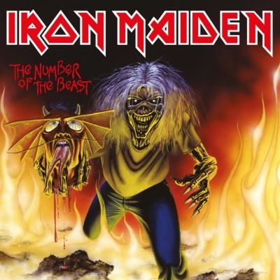 number of the beast 7インチシングルレコード iron maiden