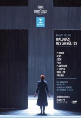 『カルメル派修道女の対話』全曲 ピィ演出、ロレール&フィルハーモニア管、プティボン、S.コッホ、他(2013 ステレオ)(2DVD)