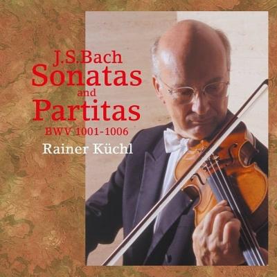 無伴奏ヴァイオリンのためのソナタとパルティータ全曲 ライナー・キュッヒル(2CD)