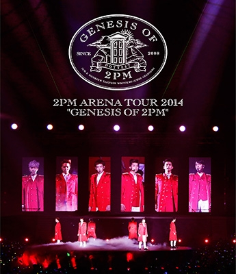 ARENA TOUR 2014 GENESIS OF 2PM 【通常盤】(Blu-ray)