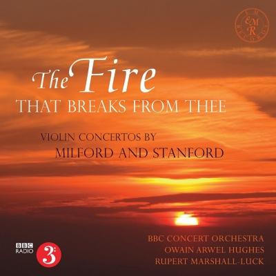 スタンフォード:ヴァイオリン協奏曲第2番、ミルフォード:ヴァイオリン協奏曲 マーシャル=ラック、ヒューズ&BBCコンサート管