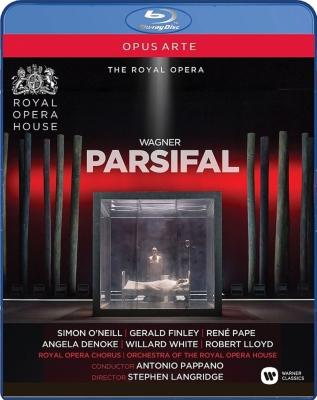 『パルジファル』全曲 S.ラングリッジ演出、パッパーノ&コヴェント・ガーデン王立歌劇場、S.オニール、他(2014 ステレオ)(2BD)(日本語字幕付)