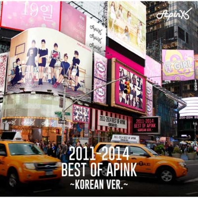 2011-2014 Best of Apink 〜Korean Ver.〜