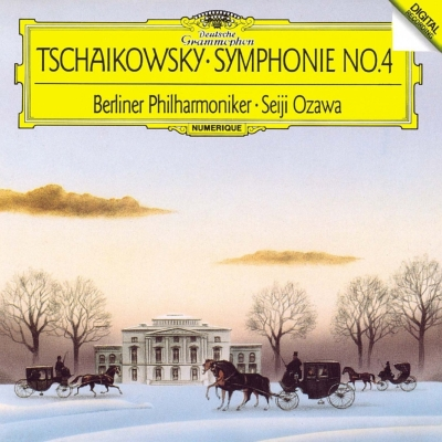 交響曲第4番、第5番、第6番『悲愴』 小澤征爾&ベルリン・フィル、サイトウ・キネン・オーケストラ(2CD)