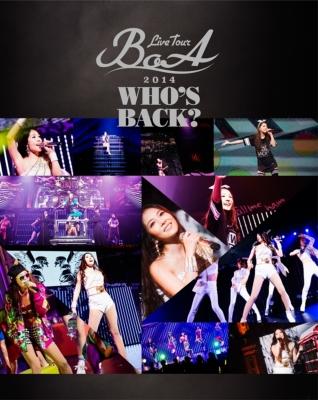 BoA LIVE TOUR 2014 〜WHO'S BACK?〜(Blu-ray)