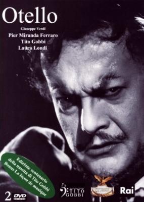 『オテロ』全曲 グラーフ演出、サンツォーニョ&フェニーチェ歌劇場、フェッラーロ、ゴッビ、他(1966 モノラル)+ゴッビ/音楽のレッスン(2DVD)