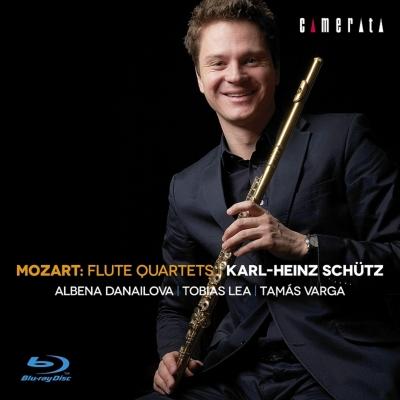 フルート四重奏曲集 カール=ハインツ・シュッツ、ダナイローヴァ、リー、ヴァルガ