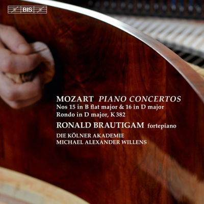 ピアノ協奏曲第15番、第16番、ロンド ブラウティハム、ウィレンズ&ケルン・アカデミー