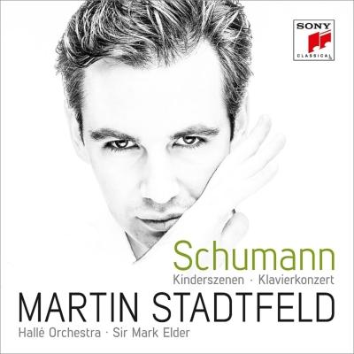 ピアノ協奏曲、子供の情景 シュタットフェルト、エルダー&ハレ管