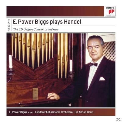 オルガン協奏曲全集、オルガンと管弦楽による名曲集 パワー・ビッグス、ボールト&ロンドン・フィル、グローヴズ&ロイヤル・フィル(4CD)